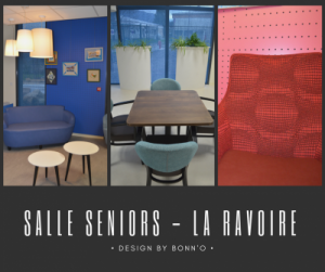 Salle sénior à la Ravoire, une réalisation Bonn'O design en collaboration avec Abp Architecte