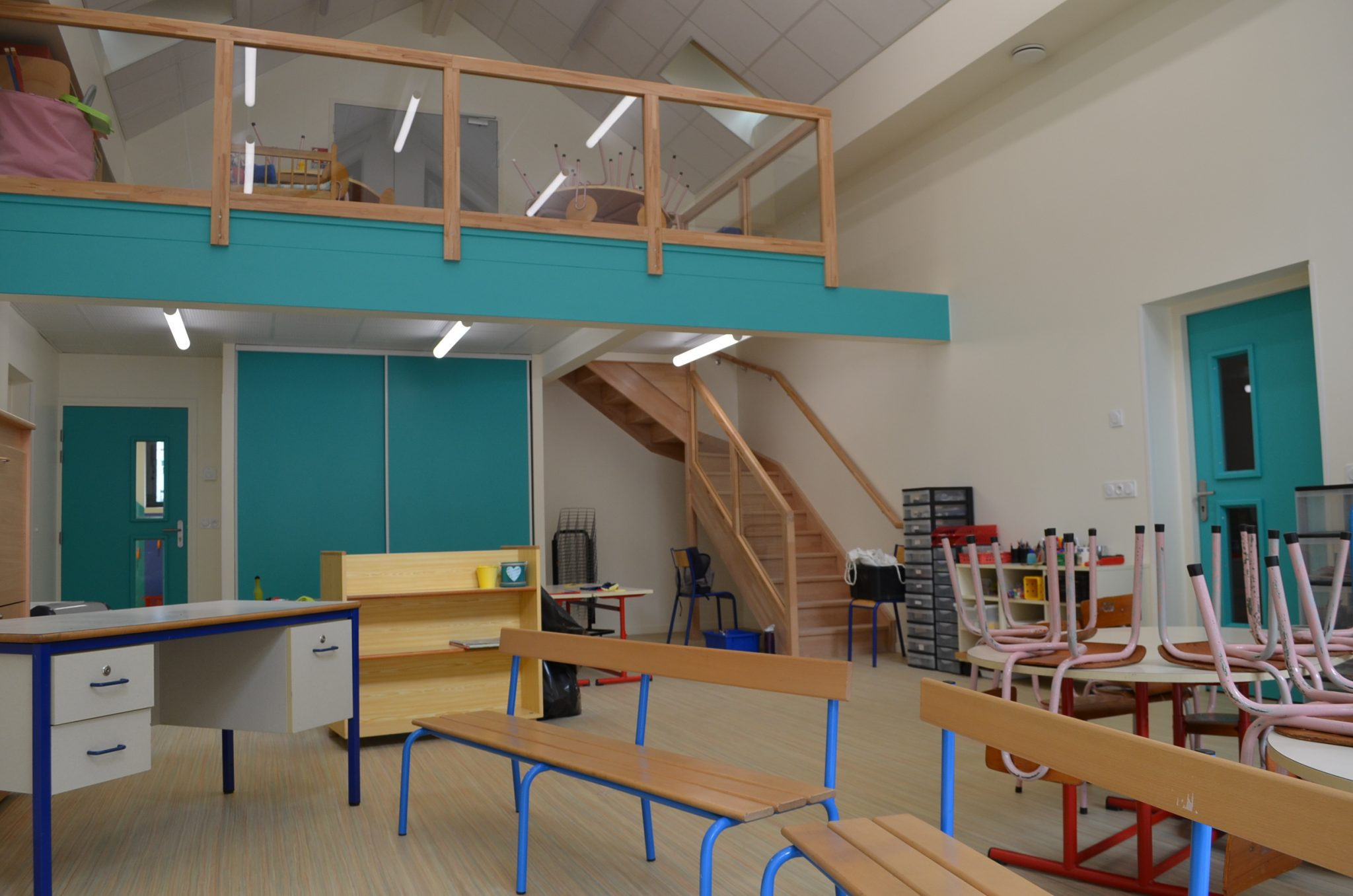 Section des petits de l 39 cole de sainte h l ne sur is re for Ecole architecture interieur