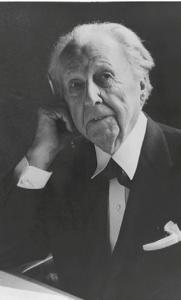 Portrait de Frank Lloyd Wright depuis le site Lego architecture