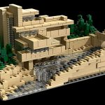 Maquette de The Fallingwater réalisée par Lego architecture