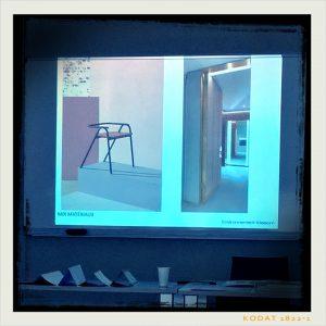 présentation de Sylvie Danet pour les Tendances 2018 dans l'habitat et la décoration. Photo de mix matériaux