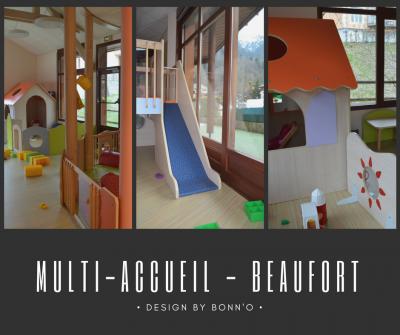 Bonn'O a travaillé sur la restructuration du multi-accueil de Beaufort